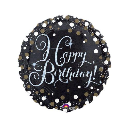 Happy Birthday foliopallo 40cm
