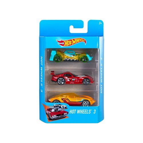 Hot Wheels Basic Car 3-pack