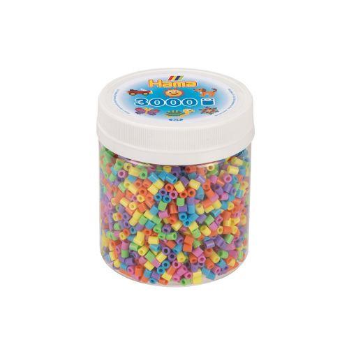Hama rasia 3000 helmeä mix 50 pastelli