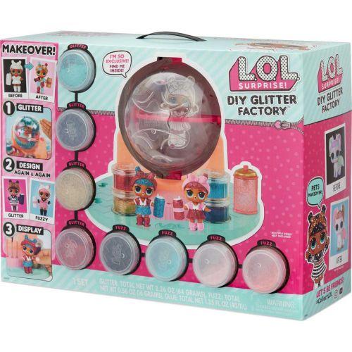 L.O.L. Surprise DIY Glitter Factory koristelusetti
