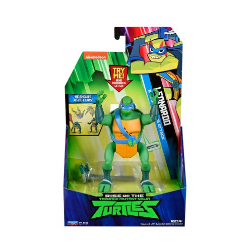 Rise of Teenage Mutant Ninja Turtles Deluxe ninjataistelu figuuri