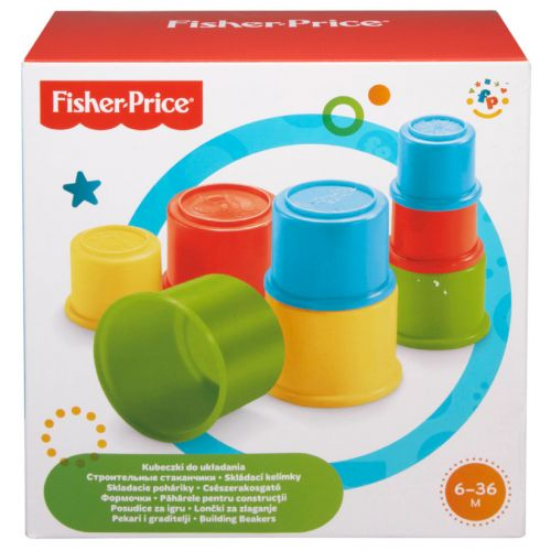Fisher-Price pinottavat kupit