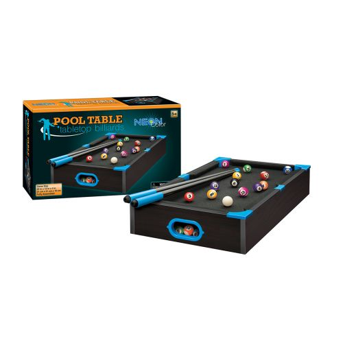 Neon Billiard Pool Table