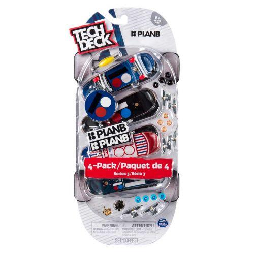Tech Deck 4-pack