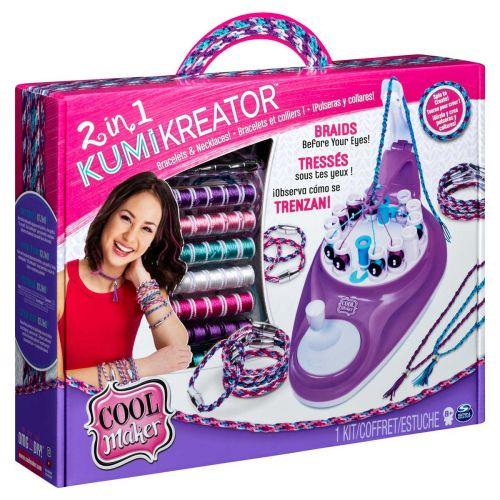Cool Maker Kumi Kreator 2 in 1 korujen valmistussetti