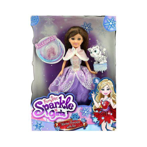 Sparkle Girlz talviprinsessa ja lemmikki