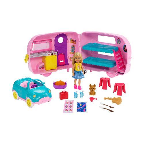 Barbie Chelsea auto ja vaunu