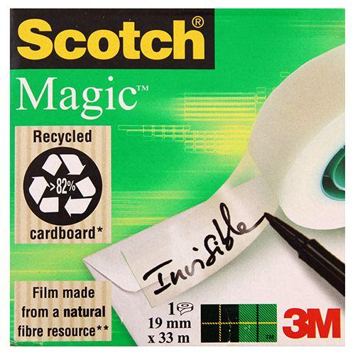 SCOTCH MAGIC 810 NÄKYMÄTÖN YLEISTEIPPI 19MMX33M