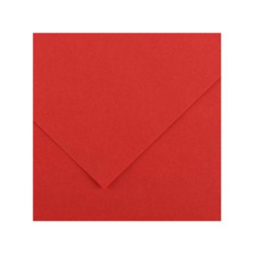 CANSON IRIS VIVALDI 240G 50X65 15 RED