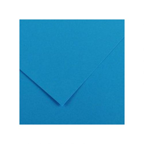 CANSON IRIS VIVALDI 240G 50X65 22 AZURE BLUE VÄRIKARTONKI