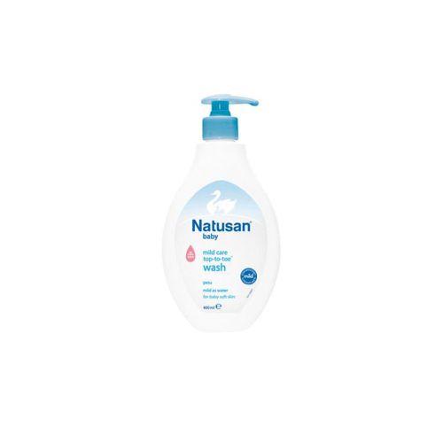 Natusan Baby Mild Care Top-to-toe pesu 400ml