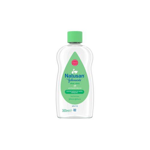 Natusan Baby Oil Hoitoöljy Aloe Vera 300ml