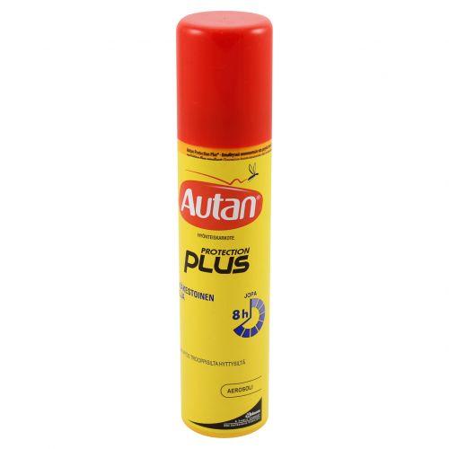 Autan Protection Plus hyttyskarkote aerosoli 100ml