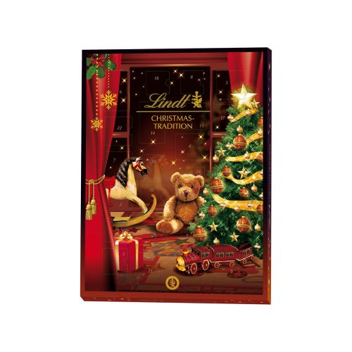 Lindt Christmas Tradition Joulukalenteri 253g