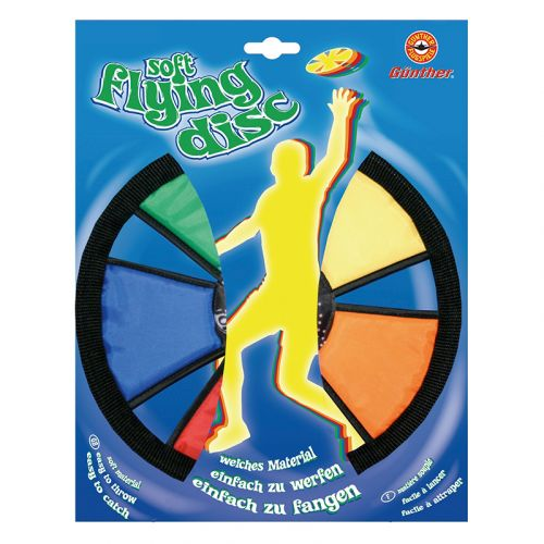 Günther Soft-Flying-Disc frisbee 25cm