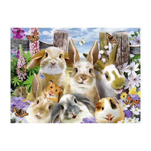 Ravensburger Rabbit Selfie 100 palaa