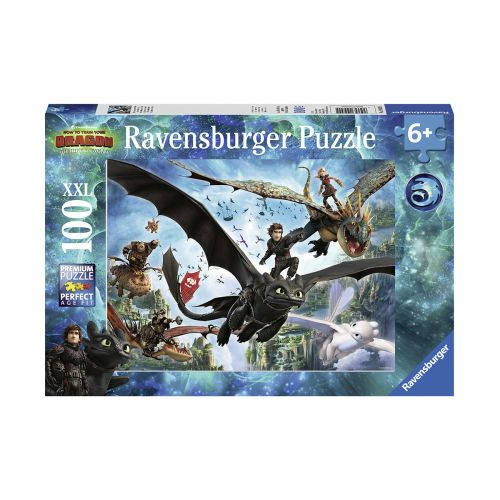Ravensburger How to Train Your Dragon Hidden World 100 palaa