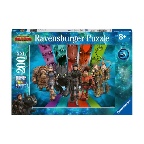 Ravensburger How to Train Your Dragons 3 200 palaa