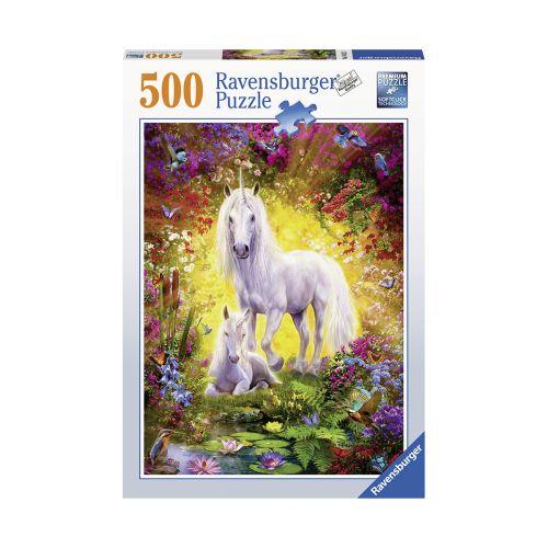 Ravensburger Unicorn and Foal 500 palaa