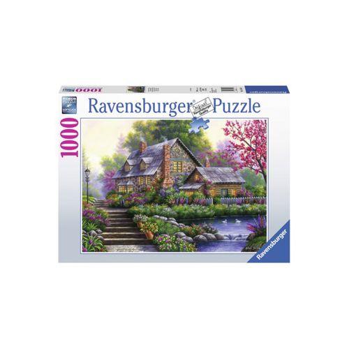 Ravensburger Romantic Cottage 1000 palaa