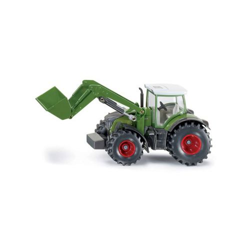 Fendt traktori etukuormaajalla