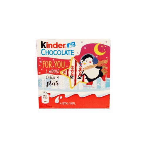 Kinder Suklaa 4kpl 50g