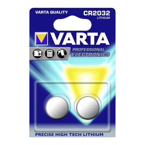 VARTA CR2032 LITHIUM NAPPIPARISTO, 2KPL