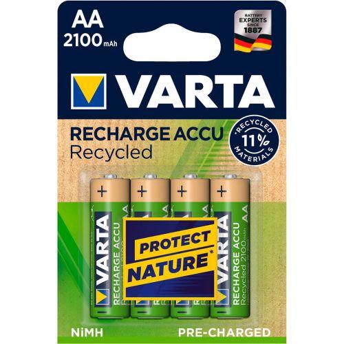 VARTA RECYCLED AA 2100 MAH, 4KPL