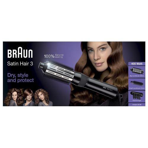 BRAUN BRAUN ILMAKIHARRIN SATIN HAIR AS330