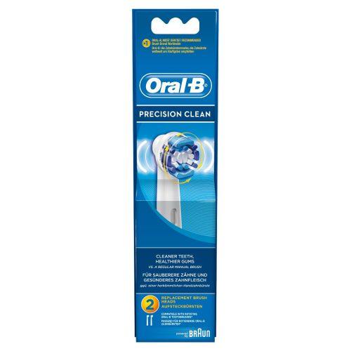 ORAL-B PRECISION CLEAN VAIHTOHARJA 2kpl