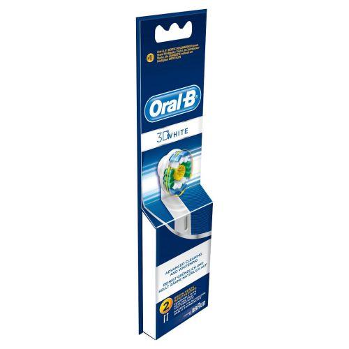 ORAL-B 3D-WHITE VAIHTOHARJA 2kpl