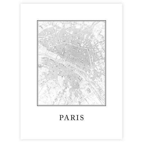 JULISTE PARIS 30X40