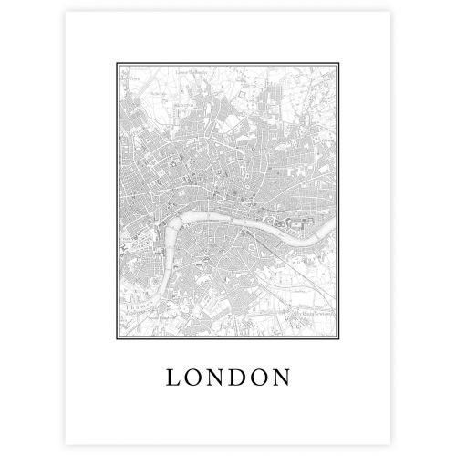JULISTE LONDON 30X40
