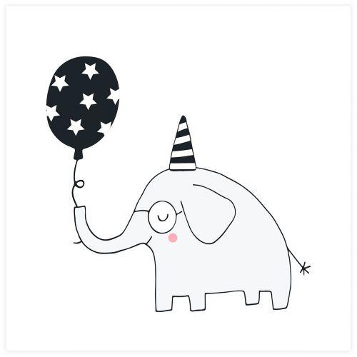 JULISTE ELEPHANT 30X30