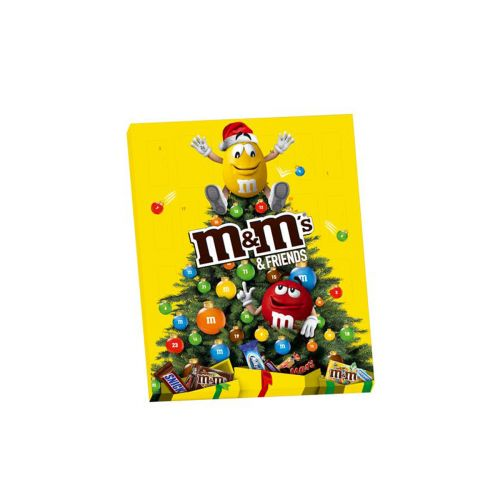 M&M's & Friends suklaajoulukalenteri 361g