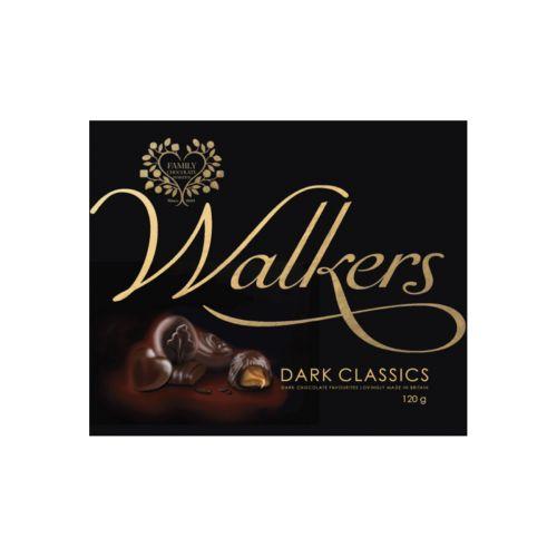 Walkers Dark Classics Tummasuklaakonvehdit 120g