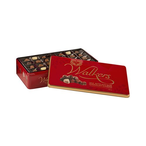 Walkers Chocolate Classics Suklaakonvehdit metallirasiassa 720g