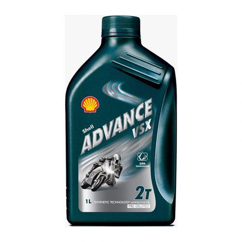 Shell Advance moottoriöljy VSX 2-T 1L