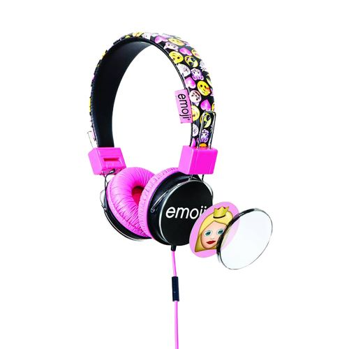 Lazerbuilt Emoji kuulokkeet, pinkki