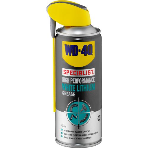 WD-40 WHITE LITHIUM GREASE  400 ML