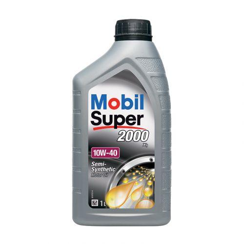 Mobil Super 2000 X1 10W-40 1L osasynteettinen moottoriöljy