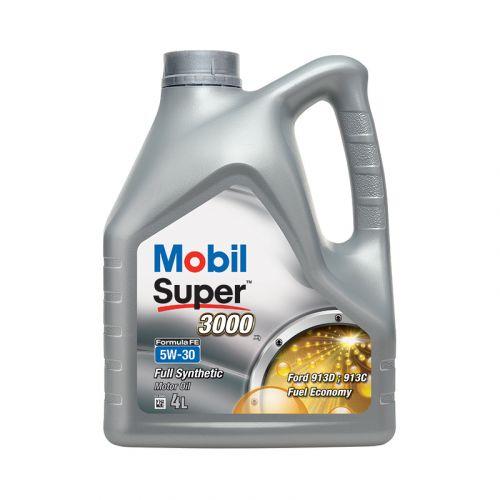Mobil Super 3000 X1 Formula FE 5W-30 4L täyssynteettinen moottoriöljy