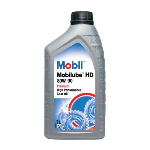 Mobil Mobilube HD 80W-90 1L vaihteisto- ja vetopyörästö-öljy