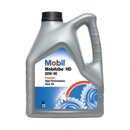 Mobil Mobilube HD 80W-90 4L vaihteisto- ja vetopyörästö-öljy