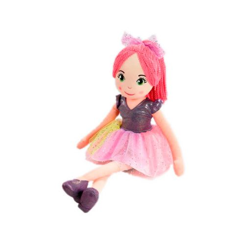 Sparkle Nukke 70cm Pinkit Hiukset
