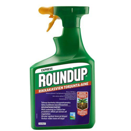 Roundup Express rikkahävite 1 L, nopeatehoinen