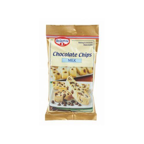 Dr.Oetker Milk Chocolate Chips 100g