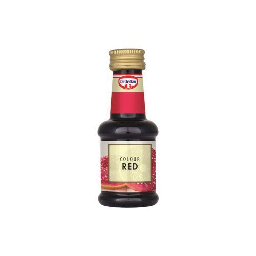 Dr.Oetker elintarvikeväri 30ml, punainen