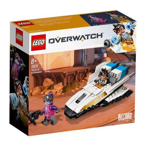 LEGO Overwatch 75970 Tracer vastaan Widowmaker