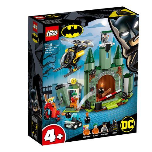 LEGO DC Comics Super Heroes 76138 Batman ja Jokerin pako